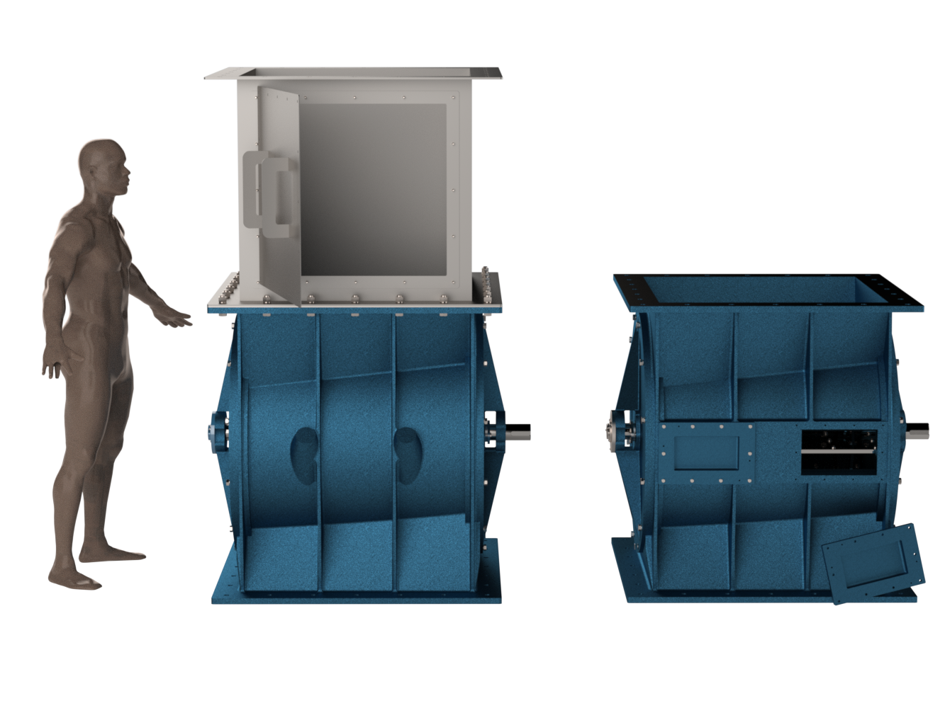 3D model of existing and proposed