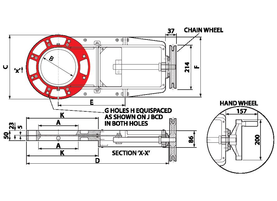 Slim Slide - Leadscrew - Round GA-01