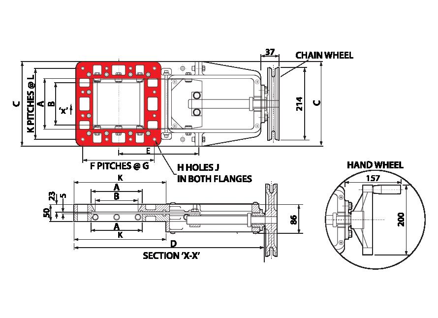 Slim Slide - Leadscrew - Square GA-01