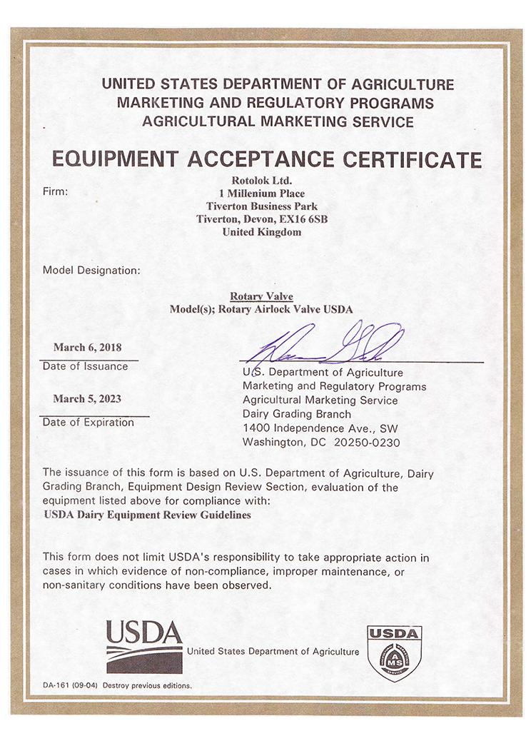 Rotolok USDA 2018